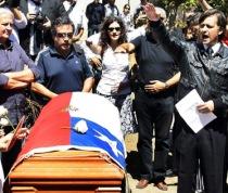 Funeral de Miguel Serrano