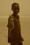 niño serpiente